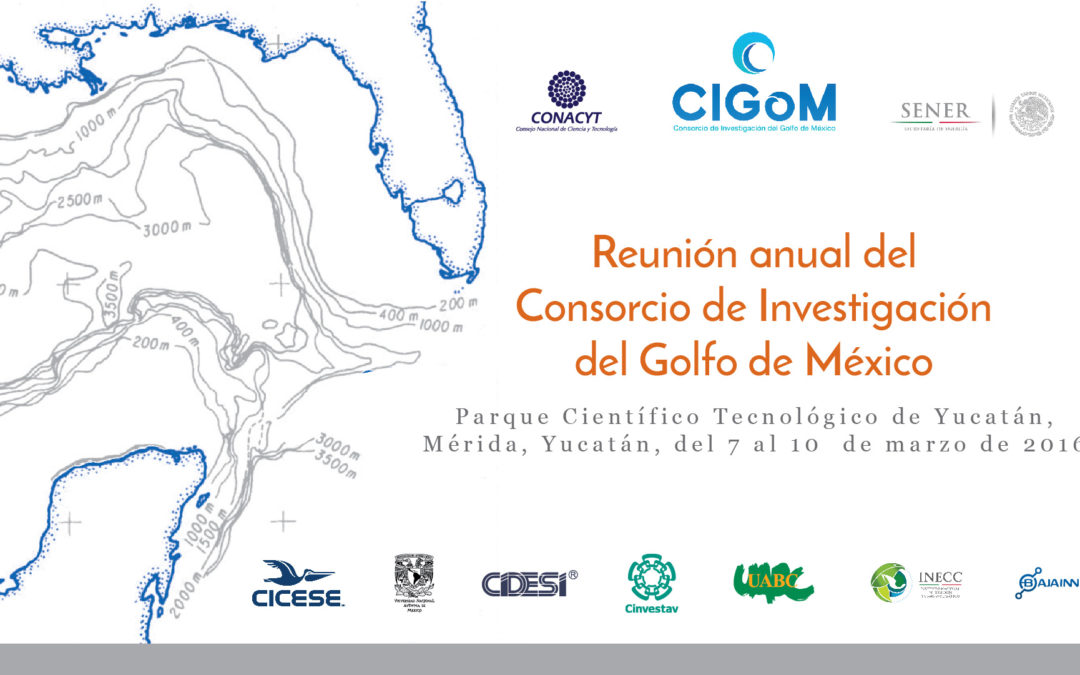 Programa general de la Reunión Anual 2017 del CIGoM