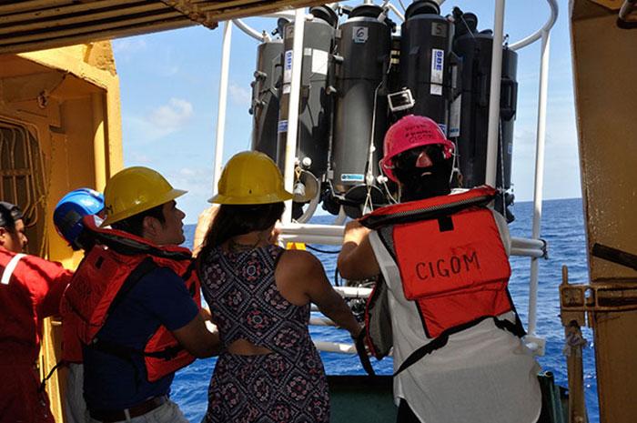 CIGoM concluye primera etapa de proyecto oceanográfico: cumple con hitos y entregable