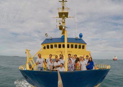 Crucero oceanográfico a bordo del Justo Sierra
