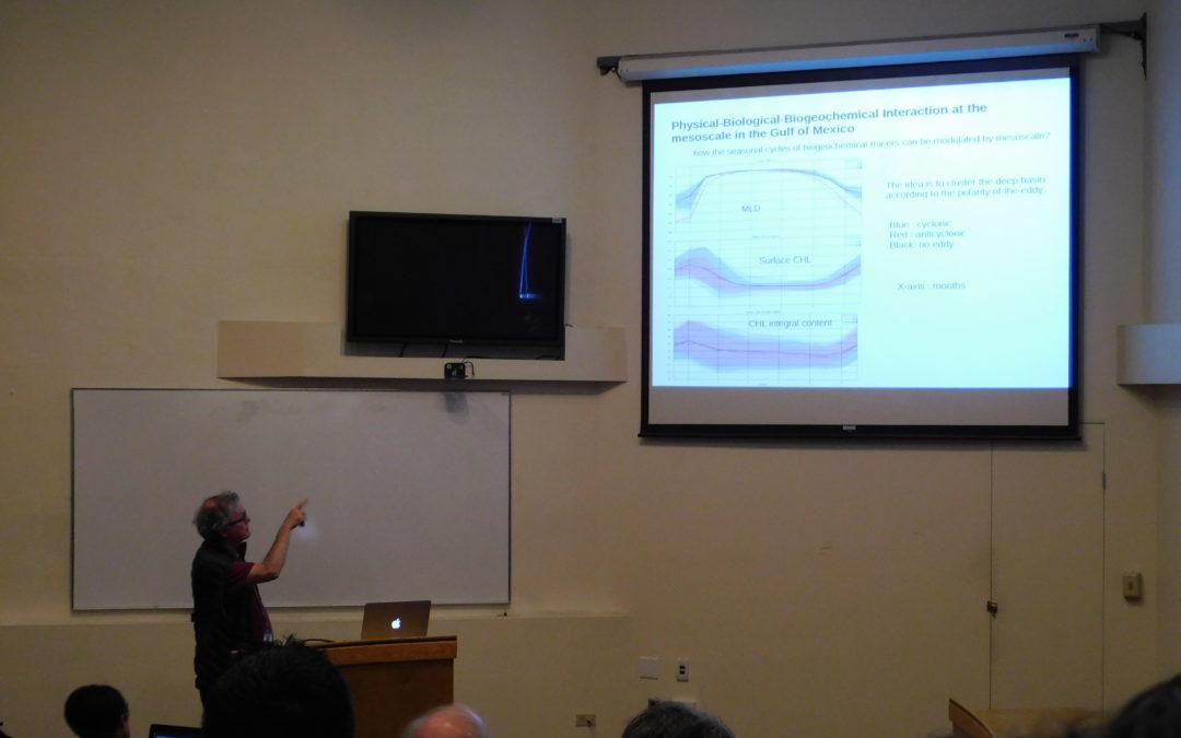 Realizan investigadores de CIGoM taller de integración de modelos numéricos