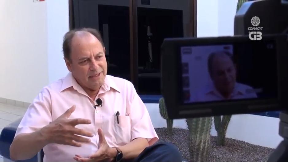 Entrevista al Dr. José Rubén Lara Lara, investigador de CICESE, en Tiempo de Ciencia (Centro de Investigaciones Biológicas del Noroeste), sobre CIGoM en sus inicios.