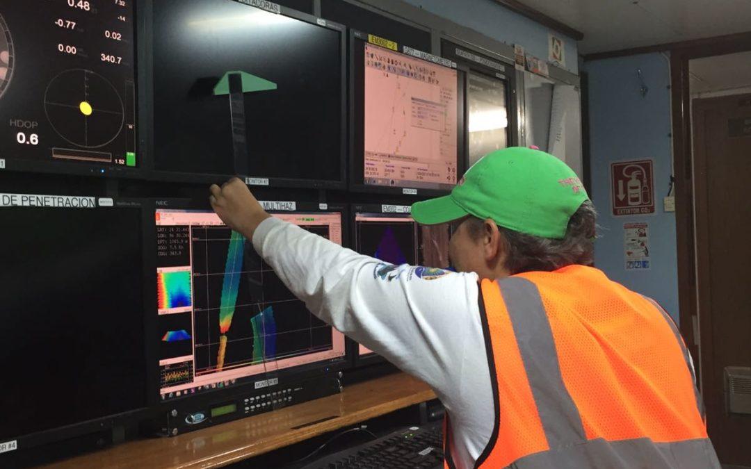 El Cinvestav-Mèrida realiza estudios oceanogràficos y de lìnea base ambiental en la Zona de Perdido y la Plataforma Yucatàn del Golfo de Mèxico