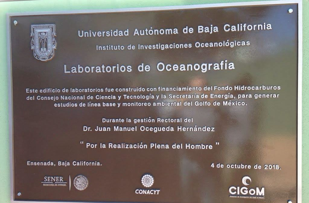 Inauguran laboratorios de oceanografía en la UABC