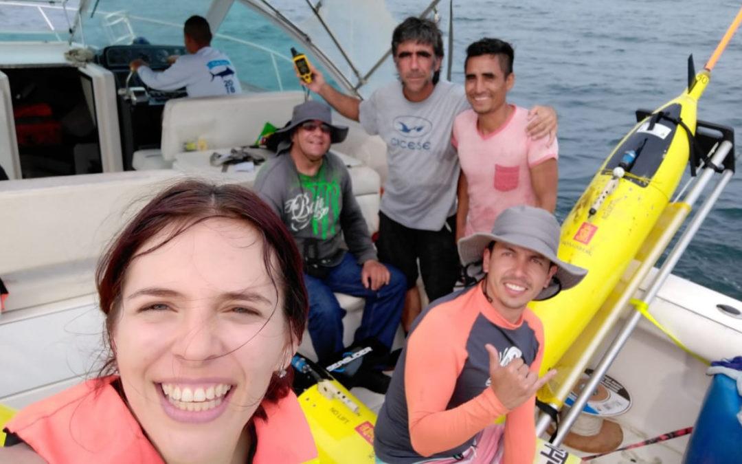 Fin de la misión multiescala, inicio de muestreo del ciclón de Campeche