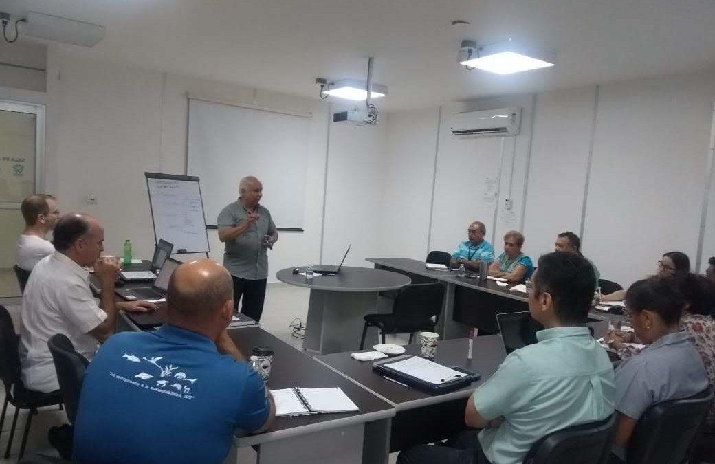 Miembros de CIGoM participan en taller sobre propiedad intelectual