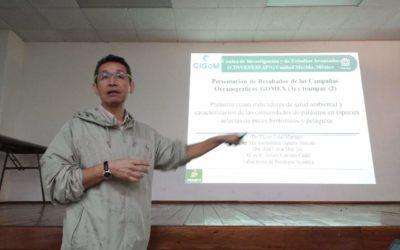 Realizan Taller de Integración de Resultados de las Campañas  Oceanográficas GOMEX-04-05 y 06