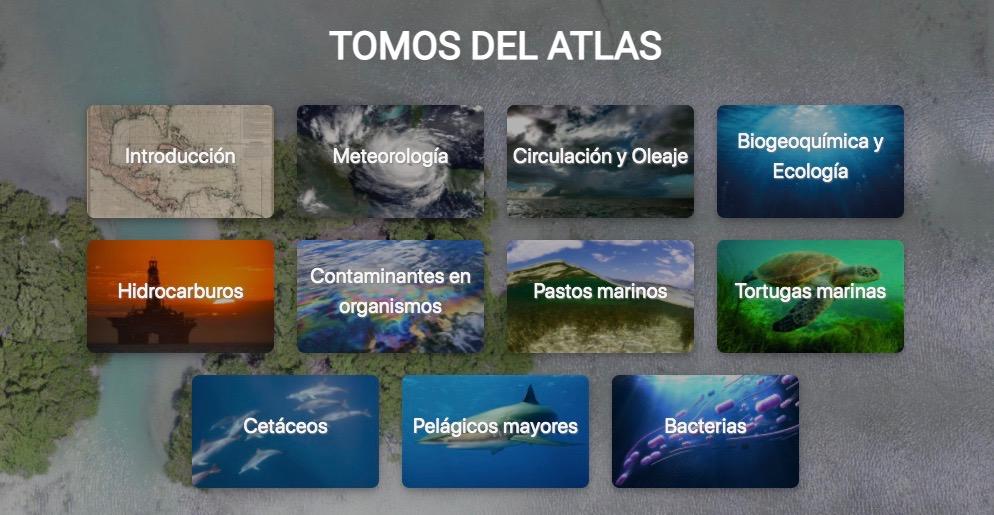 ATLAS DE LÍNEA BASE AMBIENTAL DEL GOLFO DE MÉXICO